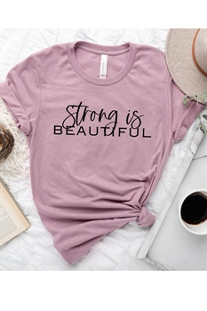 Picture of Strong is Beautiful Graphic Tee
