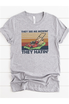 Picture of They See Me Mowin' Graphic Tee