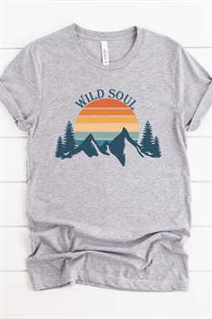 Picture of Wild Soul Graphic Tee