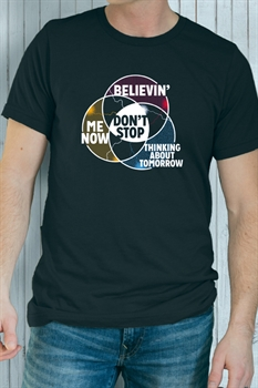 Picture of Don't Stop Venn Diagram Graphic Tee