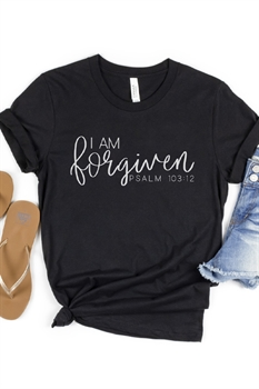 Picture of I Am Forgiven Graphic Tee by FBT