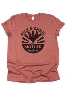 Picture of Rise and Shine Graphic Tee