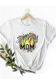 Picture of Softball Mom Graphic Tee